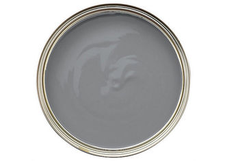 Anti - Mildew Matt Grey Emulsion Paint Strong Intensity 30 Mu / Layer